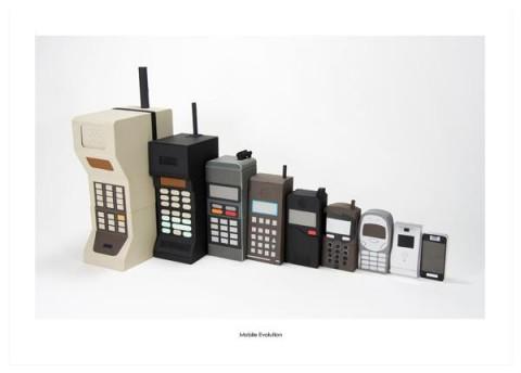 Mobiltelefonens utveckling