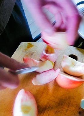 Snabbaste äppelkakan