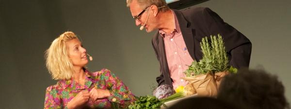Tina Nordström och Harald Treutiger