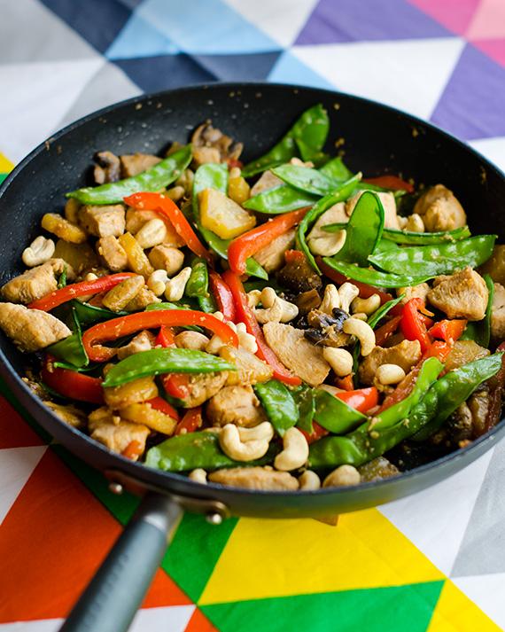 Snäll Chicken Thai - Recept från Recepten.u