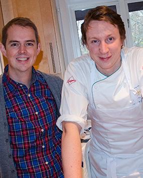 Jag störde Viktor Westerlind i köket men maten blev trots detta fantastisk
