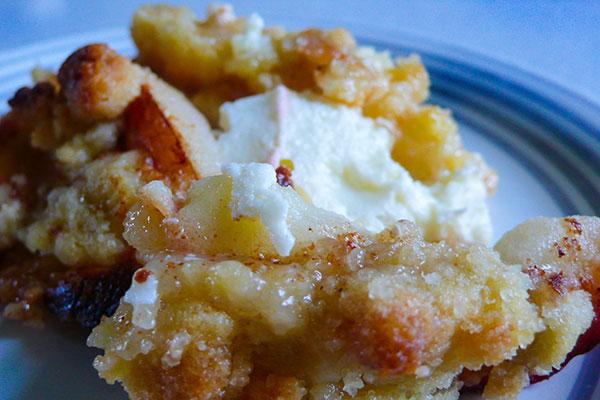 Recept på Äppelcheesecake
